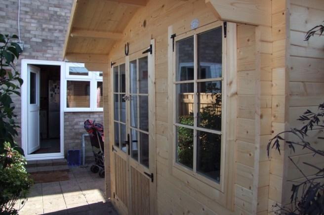 Customer Reviews: Premium Rhine Log Cabin