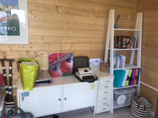 Customer Reviews: PremiumPlus Severn Log Cabin furnished and decorated