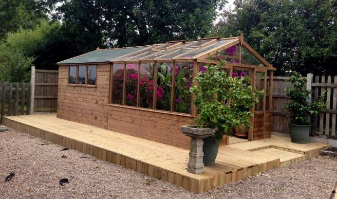 Garden needs a greenhouse - Shed and Greenhouse