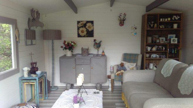 Rhine Log Cabin Decoration