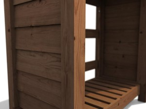 Small Log Store -fix panels to posts