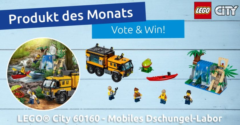 LEGO® City 60160 - Mobiles Dschungel-Labor