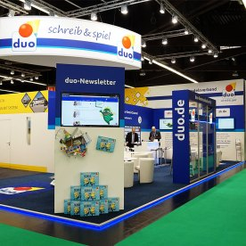 duo-Messestand