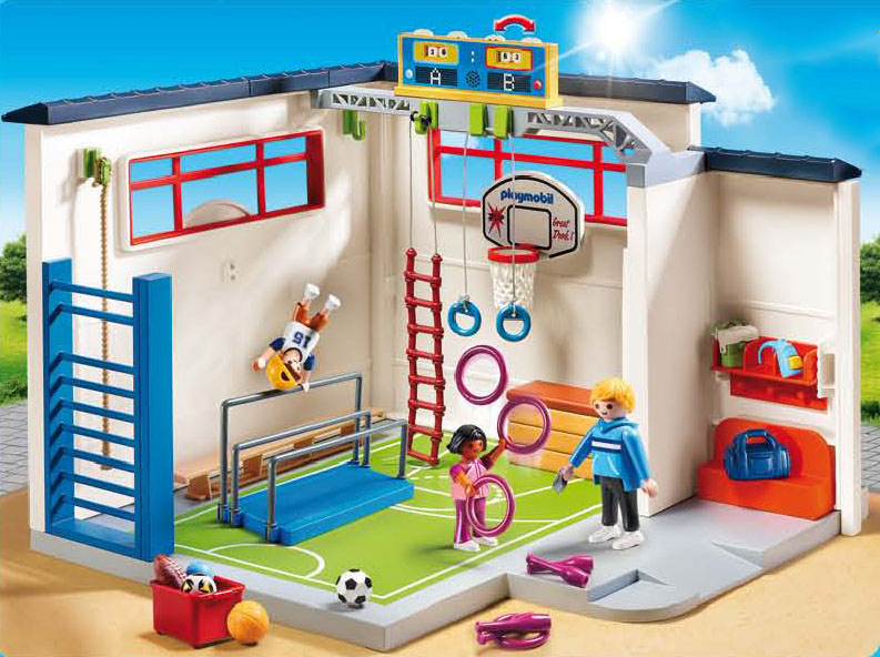 Playmobil 9454 Turnhalle