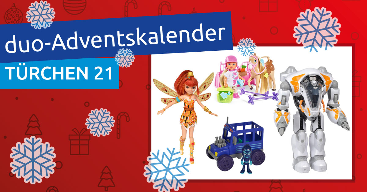duo-Adventskalender 2018: Türchen 21