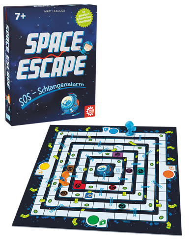 Game Factory Space Escape SOS - Schlangenalarm