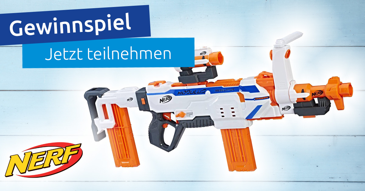 Gewinnt den NERF N-STRIKE Modulus Regulator!