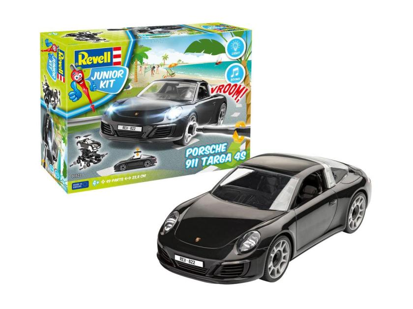 Revell Junior Kit Porsche 911 Targa 4S