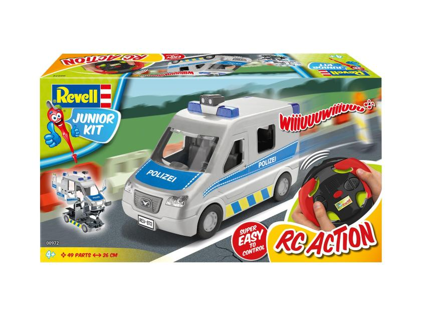 Revell Junior Kit RC Polizei Bulli