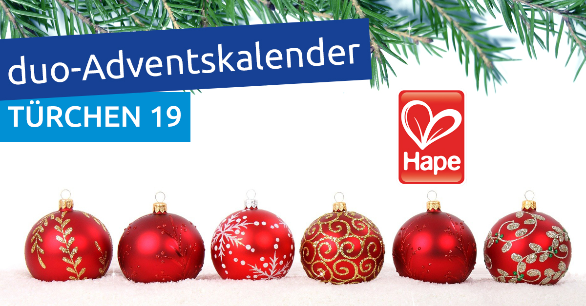 duo-Adventskalender 2020: Türchen 19