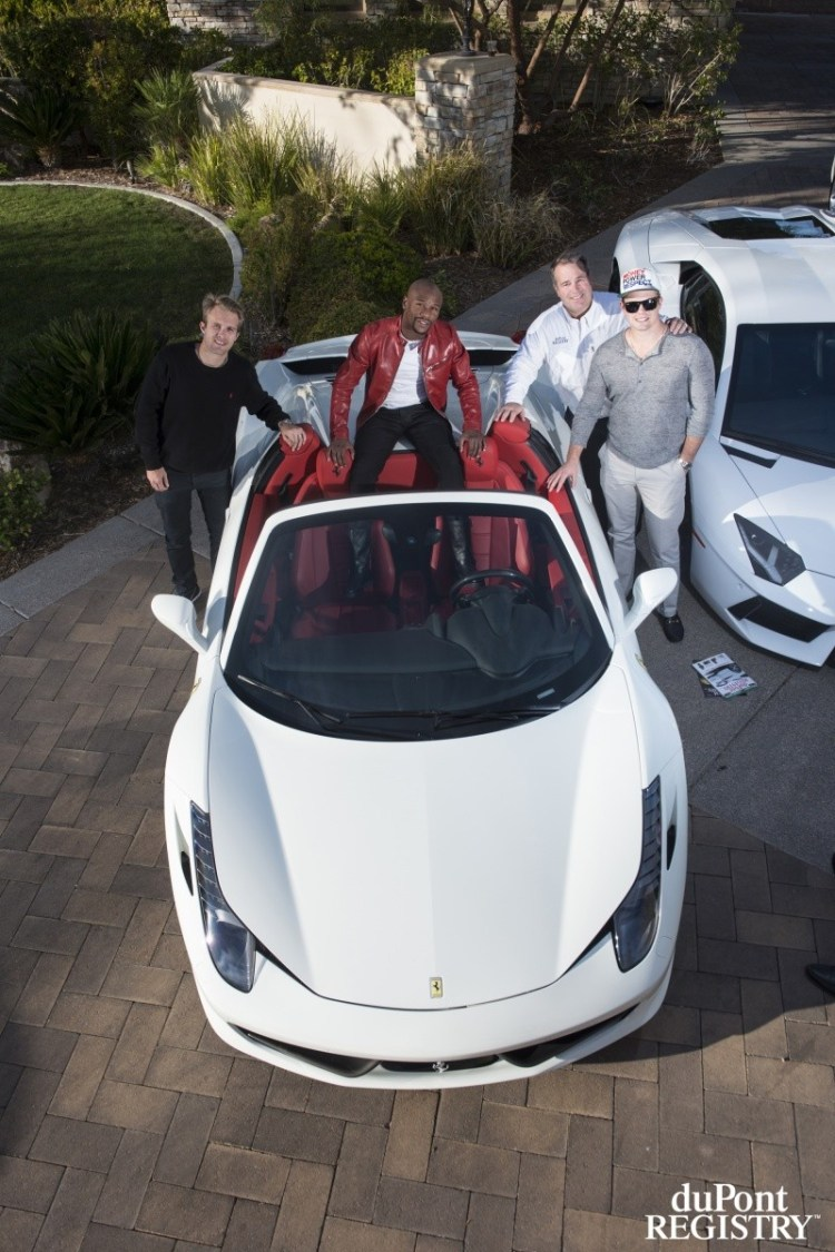 Floyd Mayweather S Car Collection In Las Vegas Gallery
