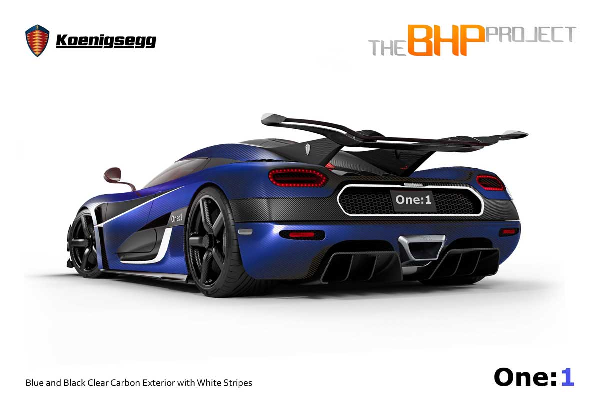 The BHP Project Koenigsegg One1 Unveiled  Autofluence