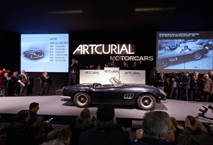 1961 FERRARI 250 GT SWB CALIFORNIA SPIDER - COLLECTION BAILLON - SOLD 16,3 ME-18,5 M$ - AUCTION ROOM GêÅ ARTCURIAL