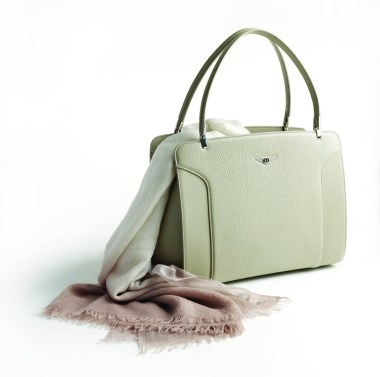 Bentley Cashmere Scarf and bag (1)