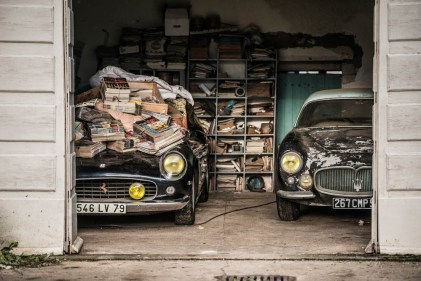 Ferrari 250 GT California SWB et Maserati A6G 2000 berlinetta Grand Sport Frua , Collection Baillon - © Artcurial