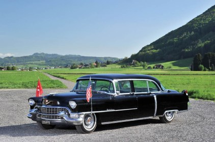 1955 Cadillac Series 75 Presidential Parade Limousine, specially ordered for Mamie Doud Eisenhower (Est. auction price: $100,000-$150,000)