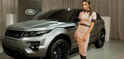 Evening Reveal as Land Rover launch the Range Rover Evoque Special Edition with Victoria Beckham at the Central Academy of Fine Arts on April 22, 2012 in Beijing, China. Pic Shows: Victoria Beckham Pic Credit: Dave Benett