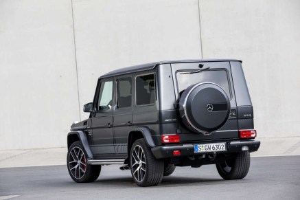 G 63 Edition Designo Night black magno