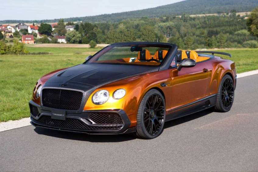 Mansory Bentley Continental GTC (1)