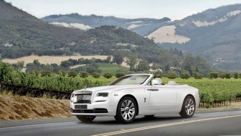 Bidder at the 2016 Naples Winter Wine Festival will become the first North American customer to receive the new Rolls-Royce Dawn (PRNewsFoto/Rolls-Royce Motor Cars)