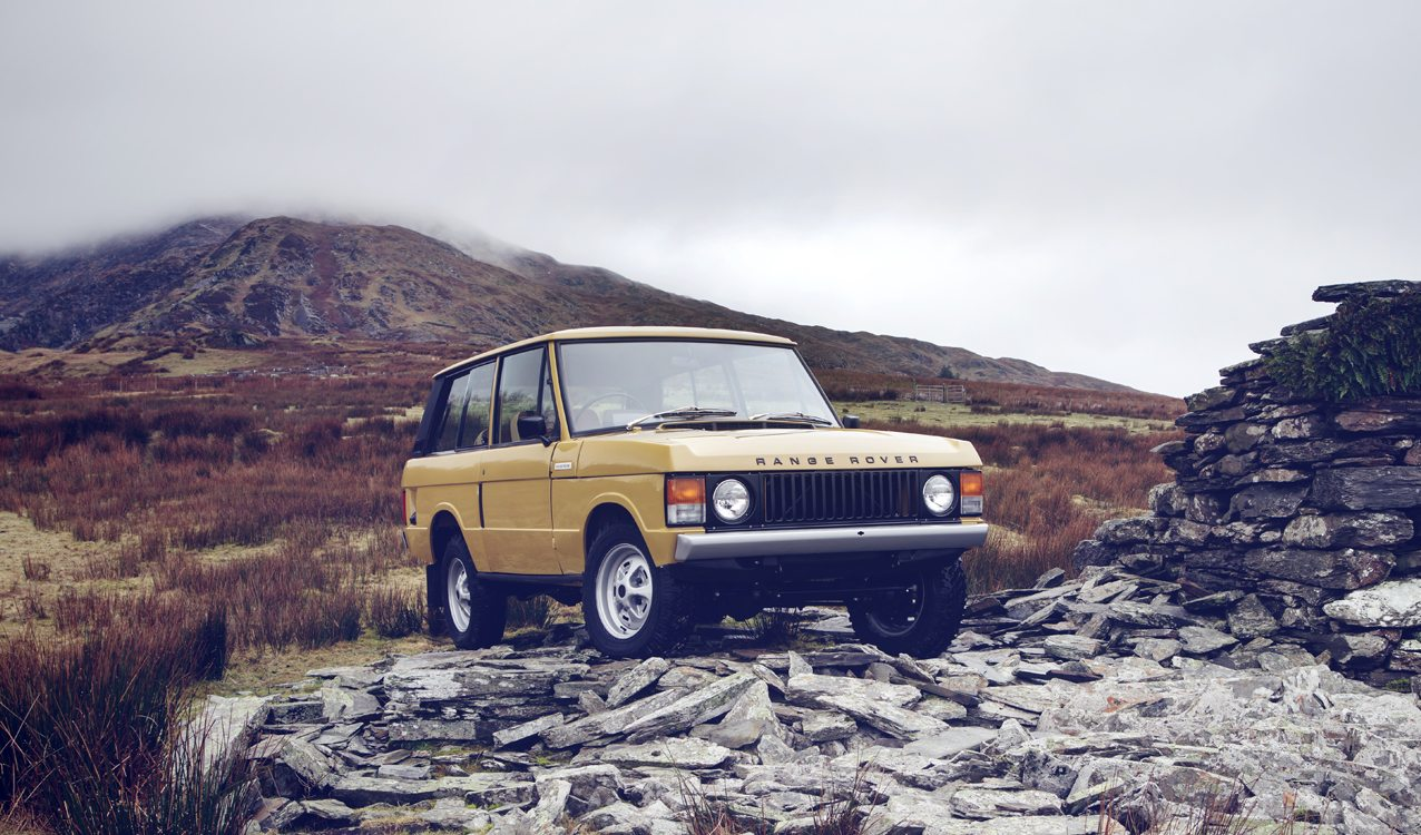 Range Rover Reborn Restorations by Land Rover Classic