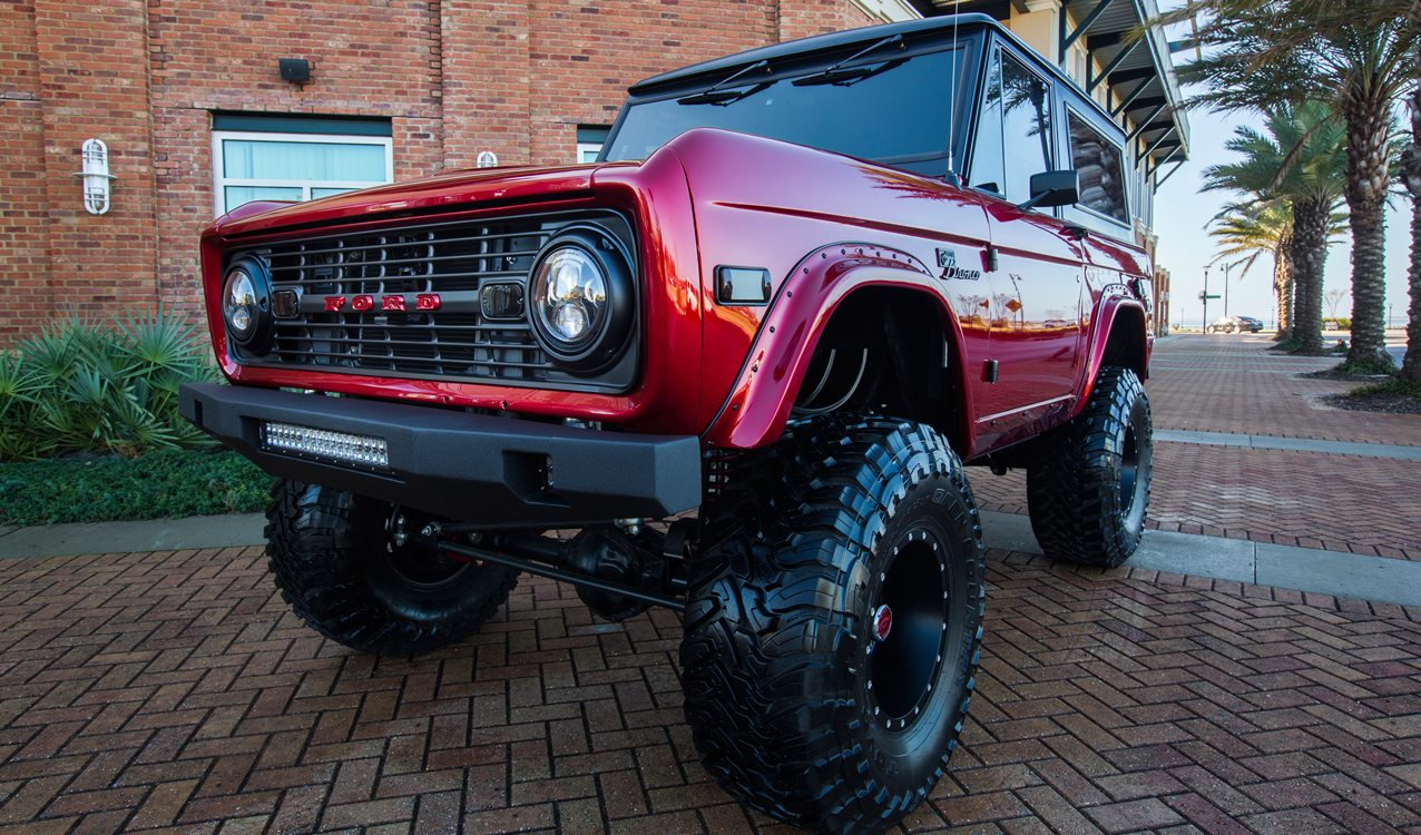 1976 Classic Ford Bronco Kandy by Velocity Restorations