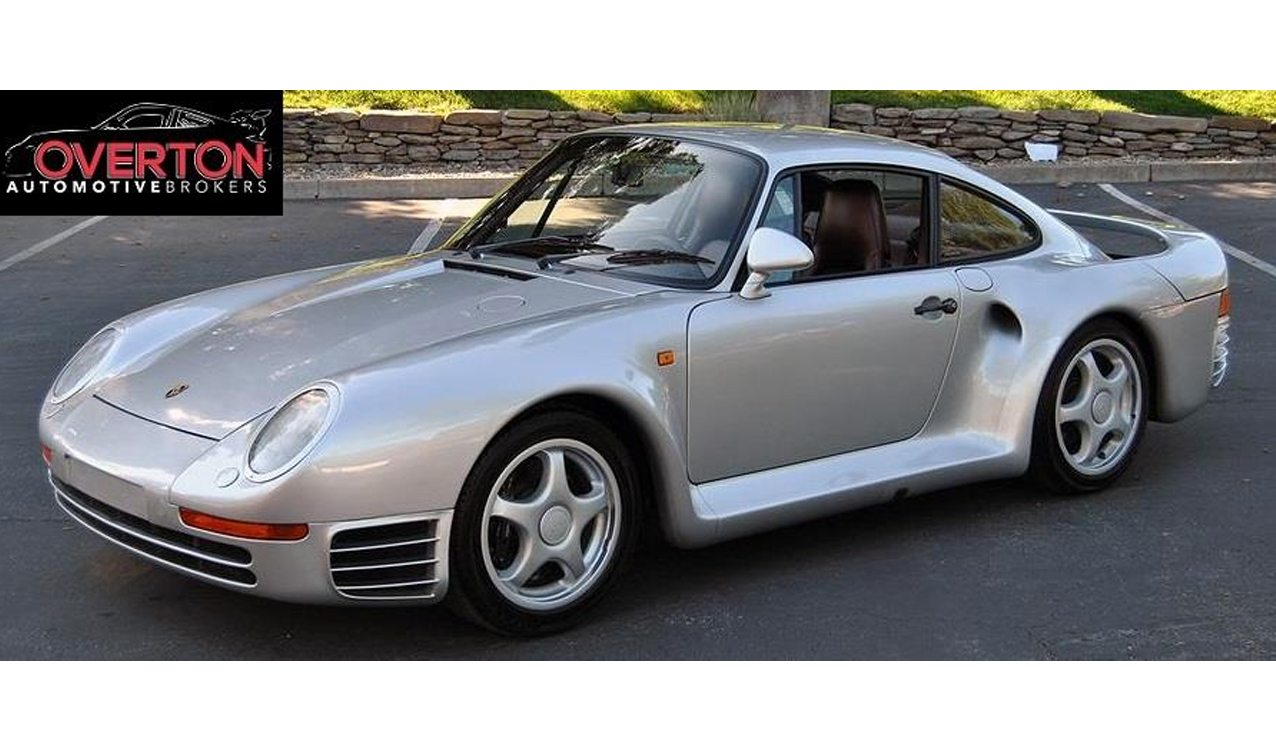 80s Car Wallpaper Rare And Low Mileage 1987 Porsche 959 For Sale