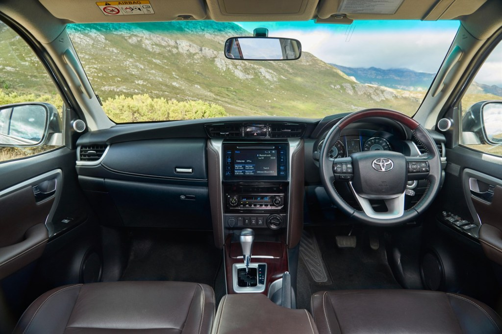 How about this luxurious interior of the Fortuner 2016