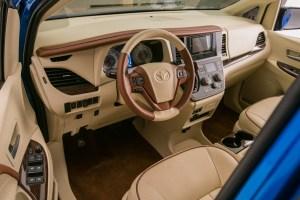 Inside the Toyota Sienna