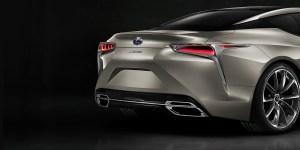 Lexus LC 500 Rear View