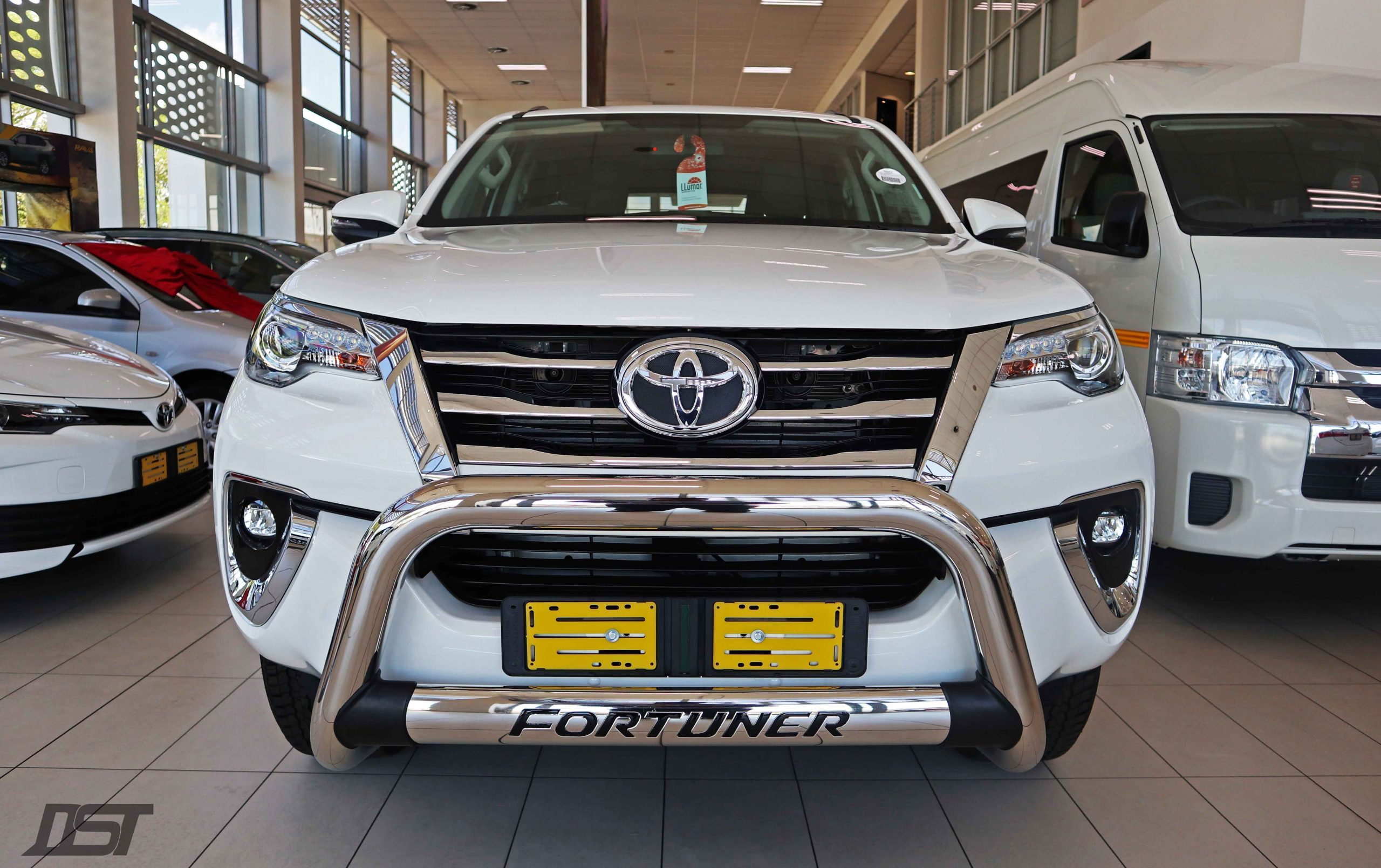 Toyota Fortuner 2.8 GD6 Fierce Edition front view