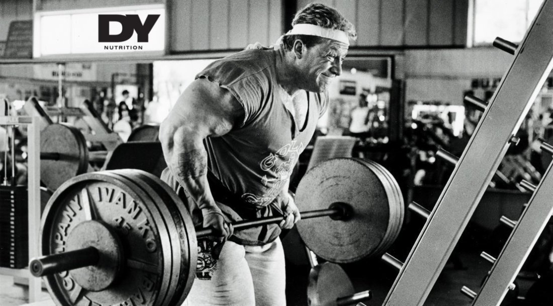 Blood and Guts Dorian Yates HIT barbell rows