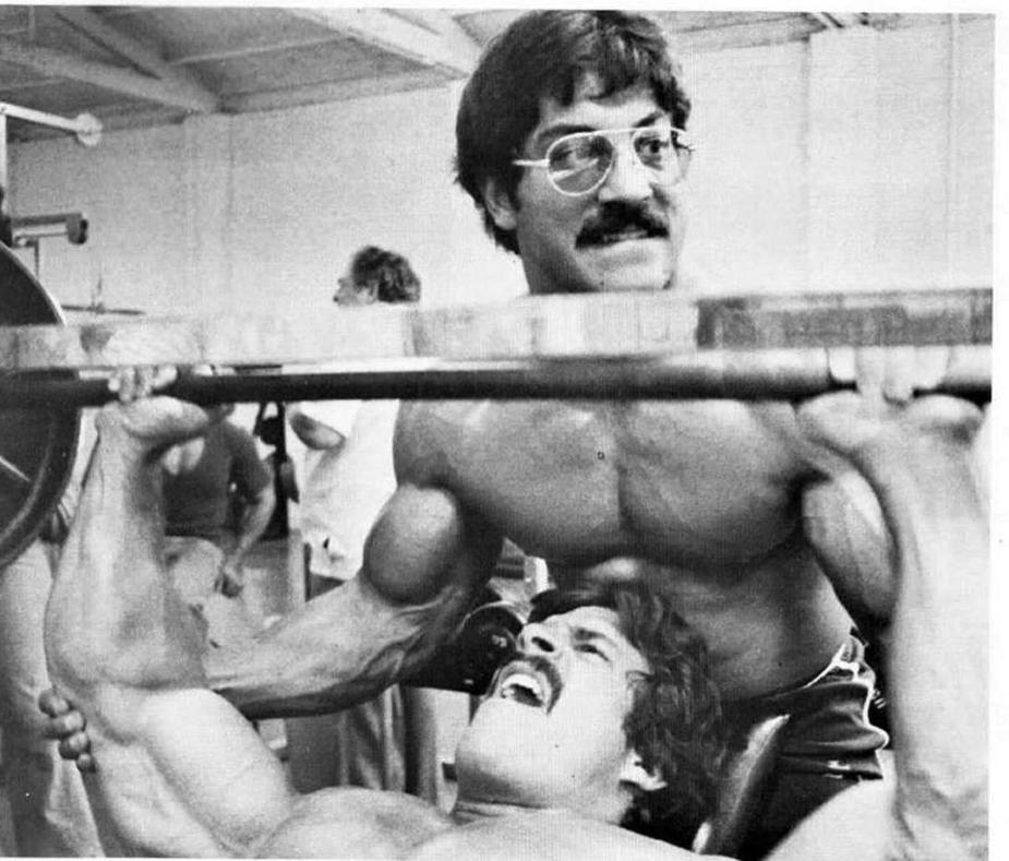 Mike Mentzer HIT training workout
