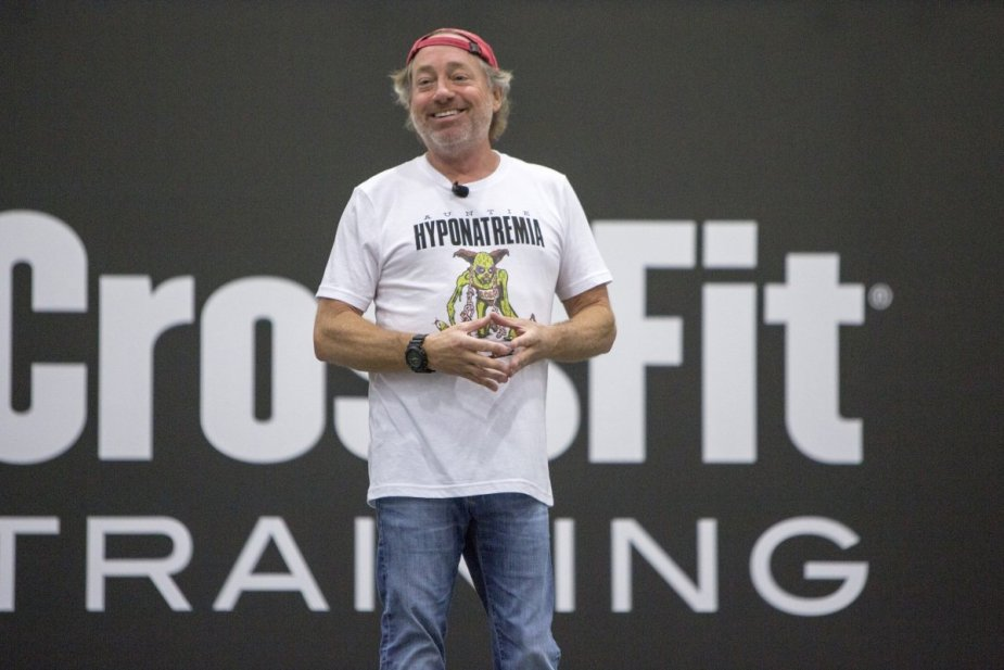 Greg Glassman is the founder of the CrossFit training program.