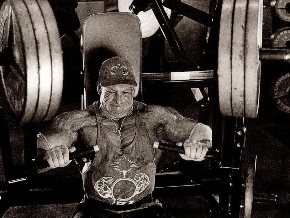 Dorian Yates was known for his hard work. His Hard Work was drove by his need to become better.