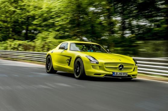 Mercedes-AMG SLS Coupé Electric Drive