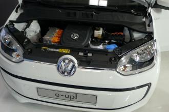 Motorraum des kommenden VW e-Up