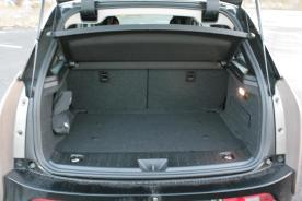 i3 Kofferraum leer