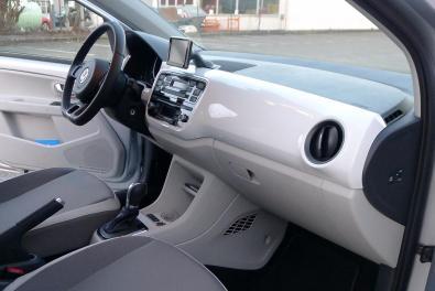 Innenraum des VW e-Up