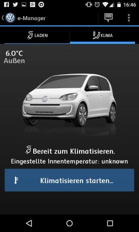 Screenshot VW Car-Net