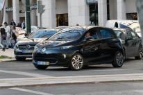 Renault ZOE in Lissabon