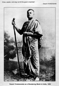 Vivekananda as Monk