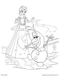 Disney's Frozen Games, Activities & Printables