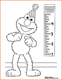 Elmo's Birthday Printables