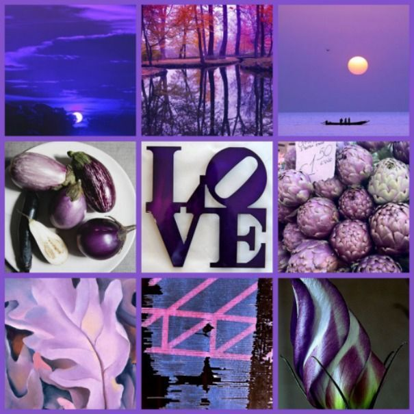 Misc Purple  collage