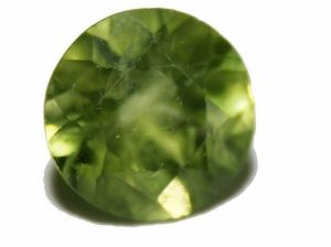 August Birthstone: Cut Gemstone Peridot