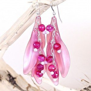 Pink-Petal-Earrings