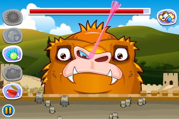 Angry King Kong