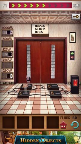 脱出ゲーム 100フロアー付属タワー 攻略 3249