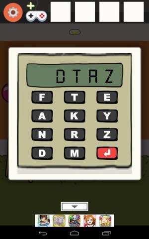 Th 脱出ゲーム ORANGE ROOM 攻略 lv6 1